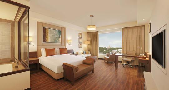 Double Tree By Hilton Agra Delux Room Taj View