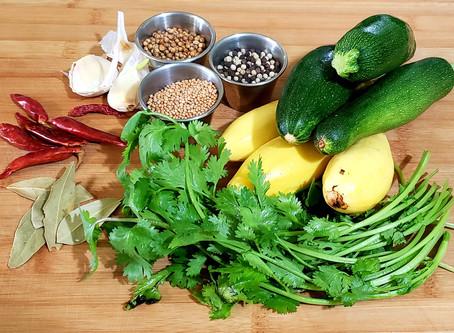 Summer Squash Refrigerator Pickles