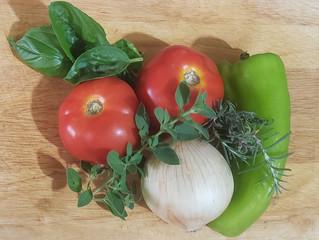 Fresh Tomato and Mozzarella Bruschetta