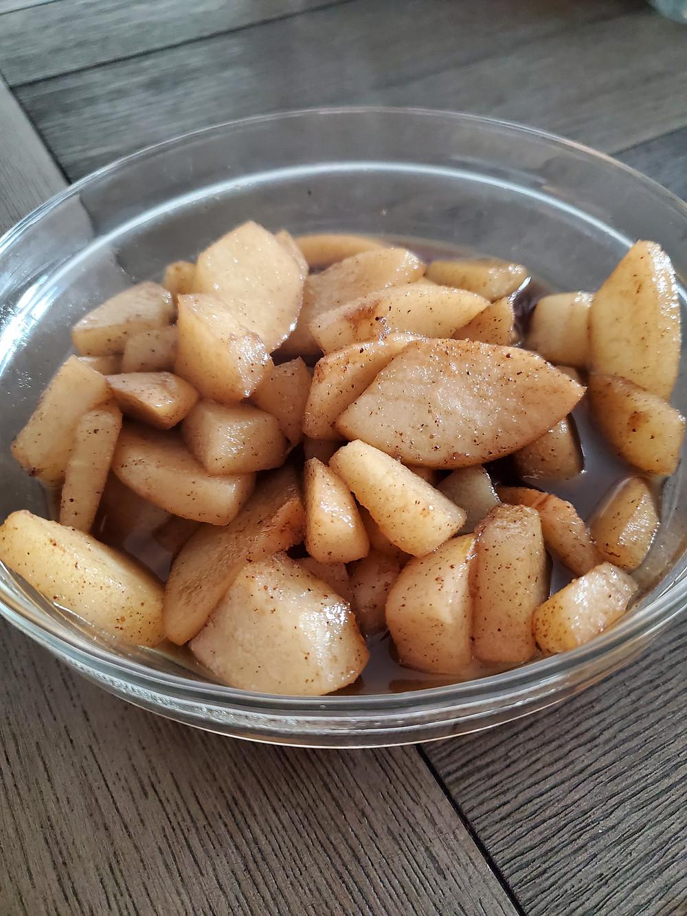 Spiced Asian Pears
