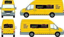Green Garden Man Transit