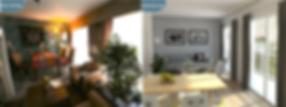 home staging 3d virtuel 3d, immobilier 3d, perspective 3d