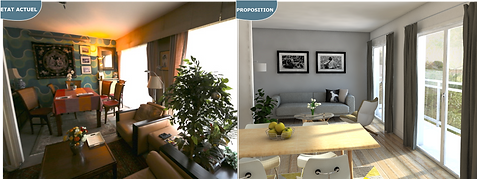 home staging 3d virtuel 3d, immobilier 3d, perspective 3d