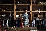 Magasin de vêtements pour hommes