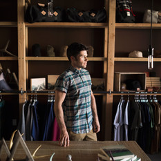Tienda de ropa de hombre