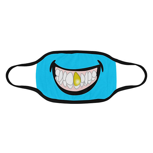 SC Gold Tooth Grin Face - Protective Mask