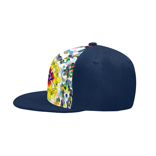 SC Higher Vision Printed Snapback Cap - Blue