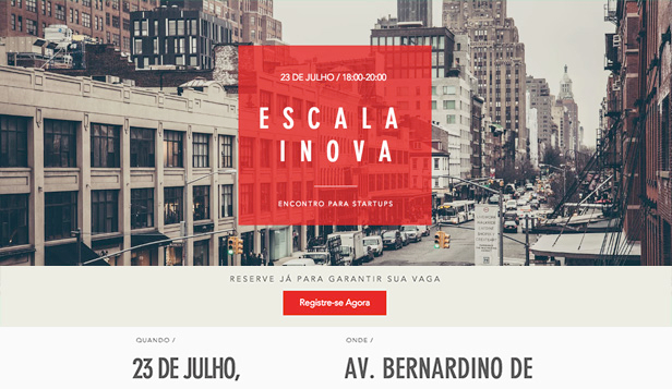 Eventos website templates – Evento Meetup