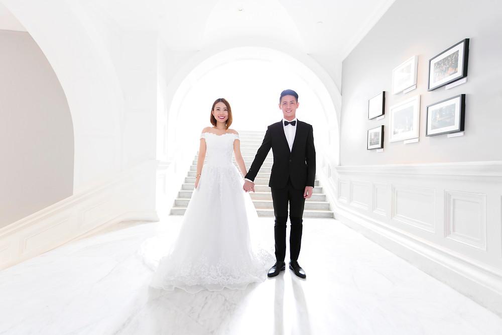 Singapore Prewedding Photoshoot at Victoria Concert Theatre by Equarius Photography