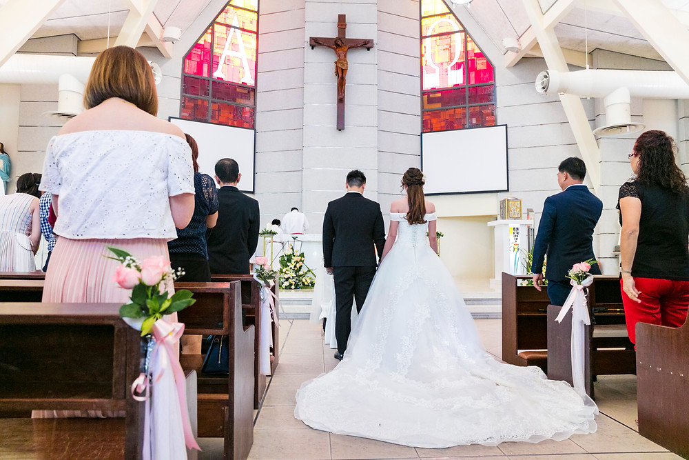 Singapore Wedding at Church of St Francis of Assisi