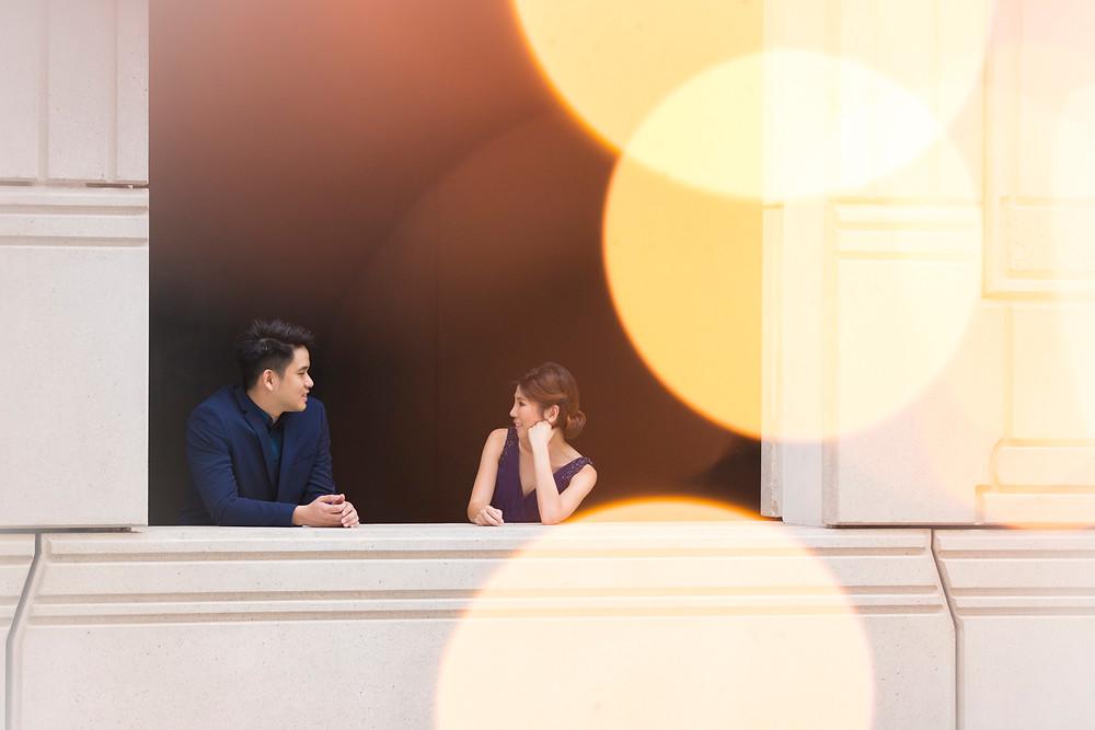 Singapore Prewedding at Victoria Concert Hall| Equarius Photography