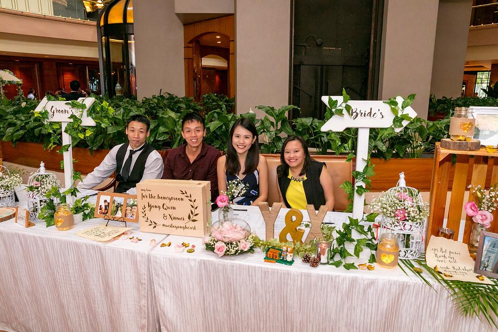 Wedding Reception at Regent Hotel Singapore| Deco by Wedding Envogue
