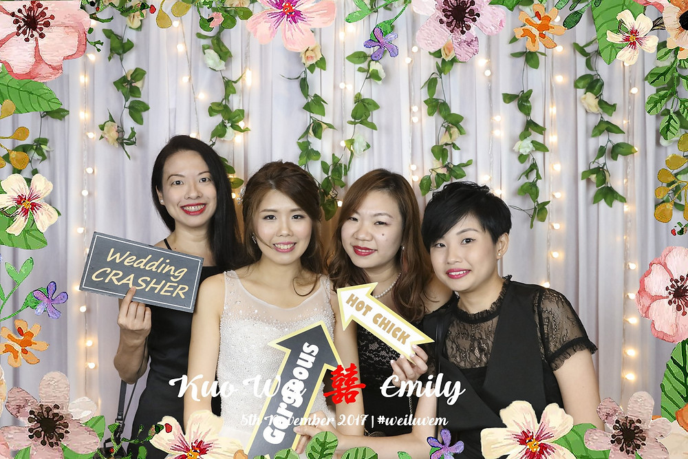 Singapore Fairylights Photobooth at Singapore Marriott Tang Plaza Hotel
