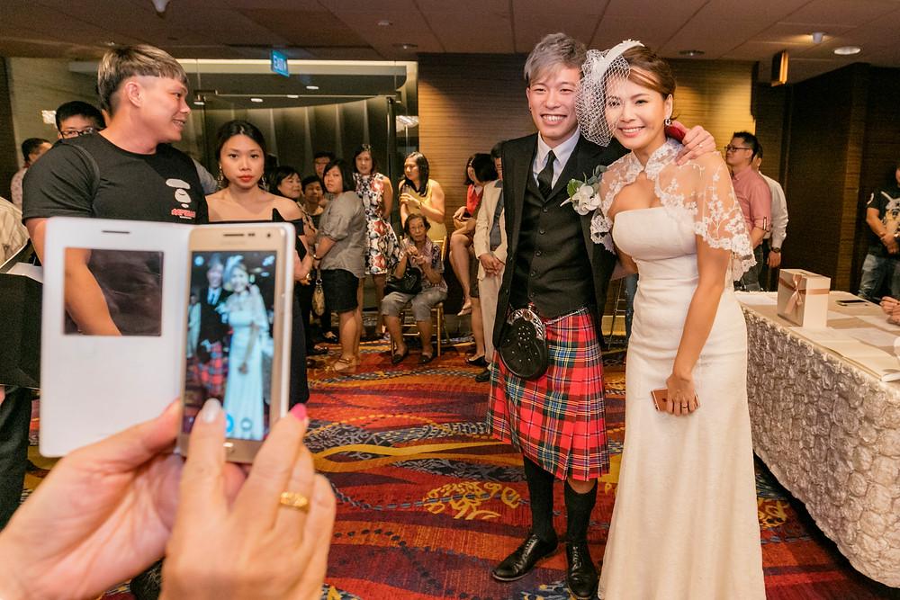 Wedding Reception at Mandarin Orchard Singapore| Equarius Photography