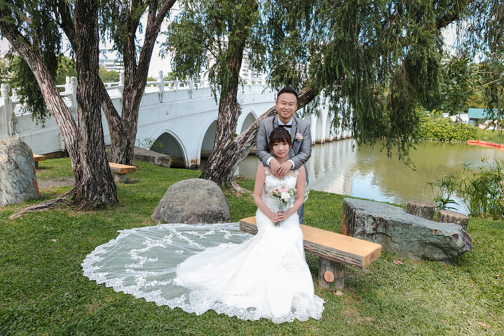 Wedding Photoshoot at Chinese Garden