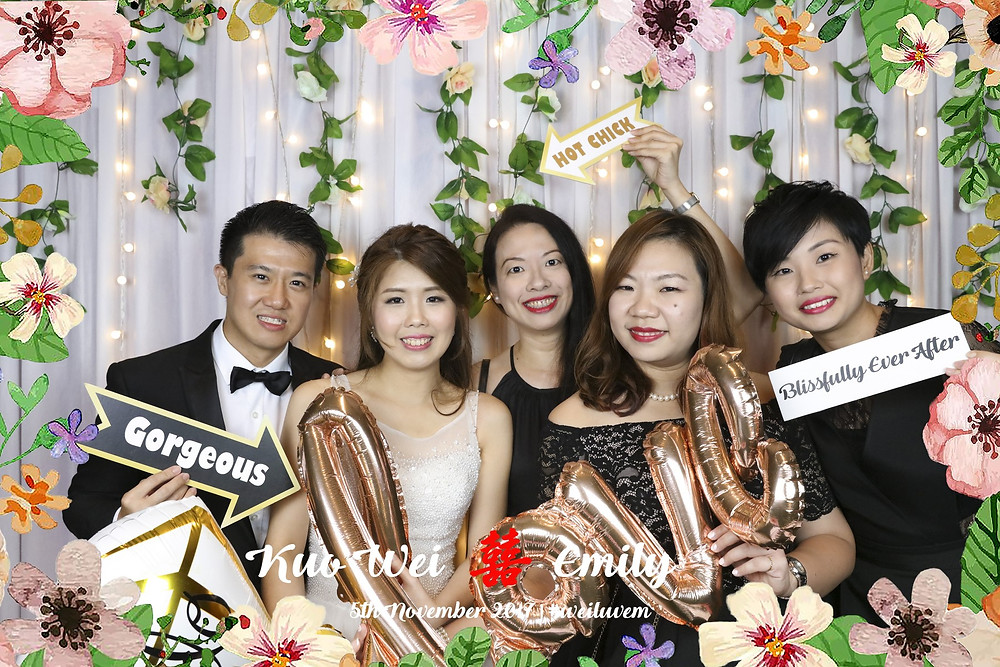 Wedding Photobooth at Singapore Marriott Tang Plaza Hotel| Equarius Photography