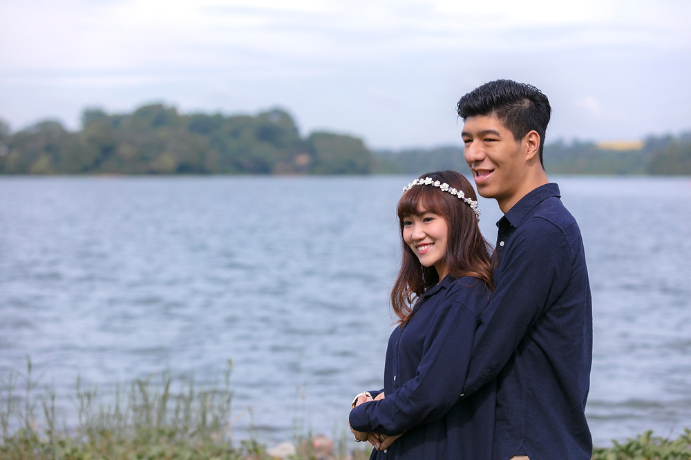 Singapore Prewedding Photoshoot at Upper Seletar Resevoir
