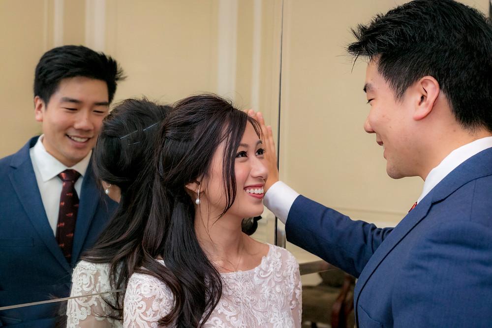 Wedding Couple Shoot at Goodwood Park Hotel