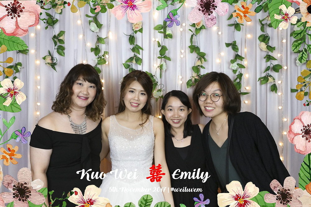 Singapore Wedding Photobooth