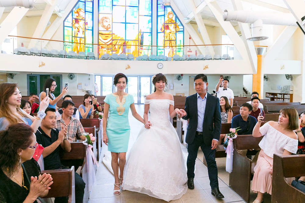 Wedding Day at Church of St Francis of Assisi