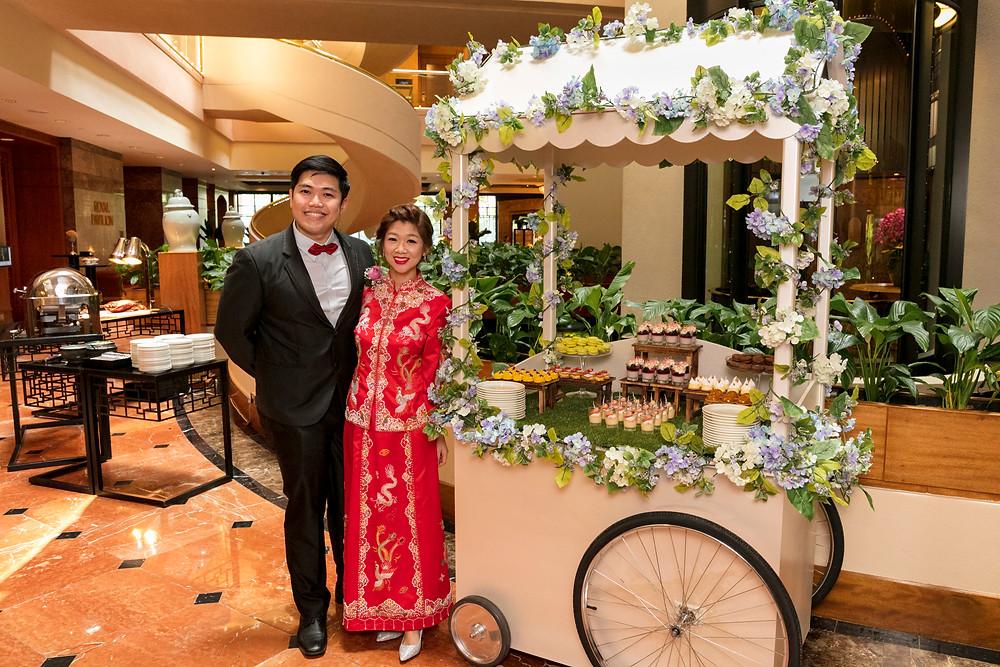 Wedding Dessert Cart| Regent Hotel Singapore