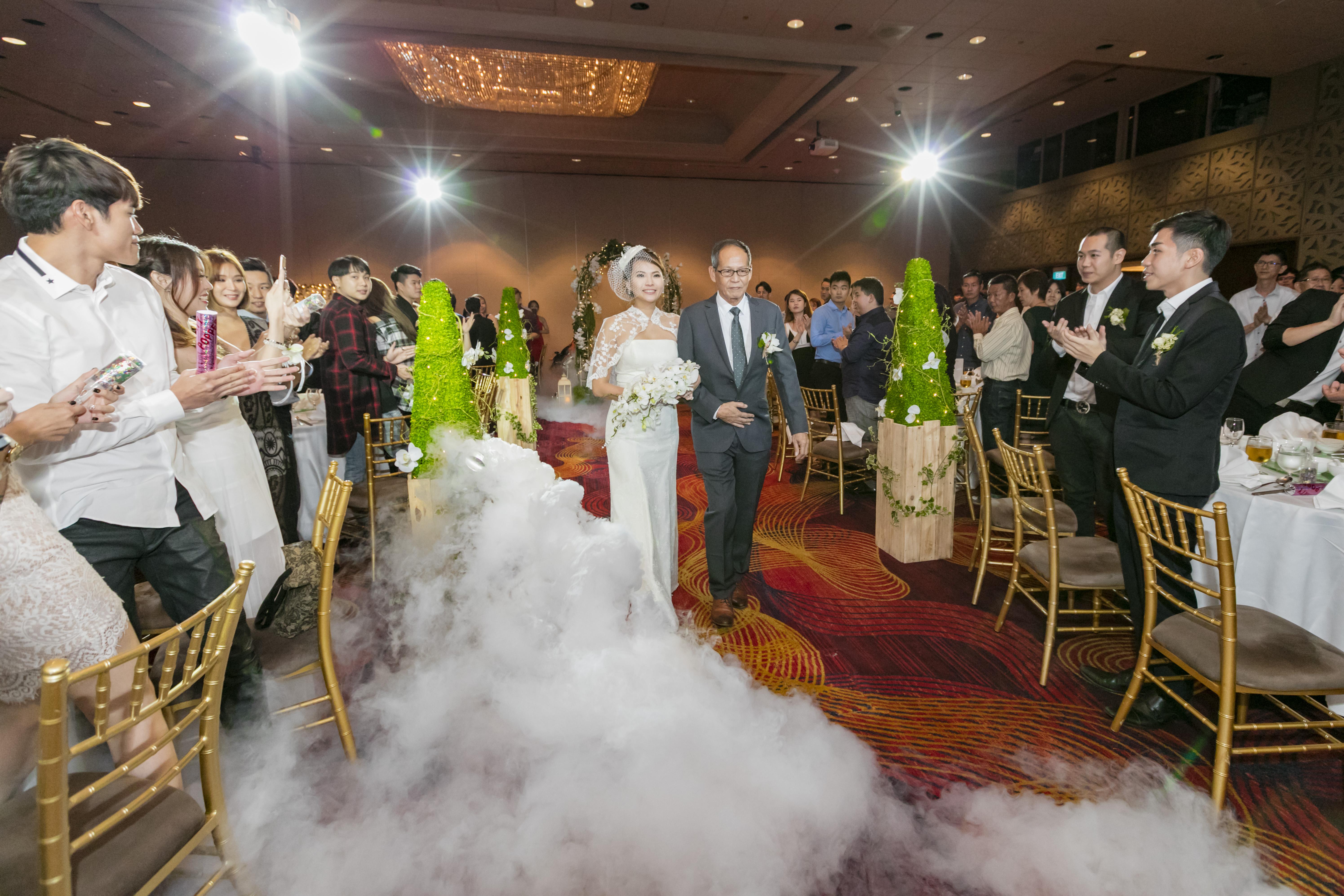 Wedding at Mandarin Orchard