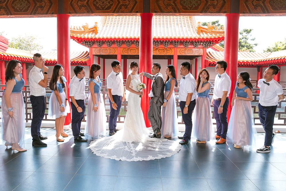 Singapore Wedding Photoshoot at Chinese Garden