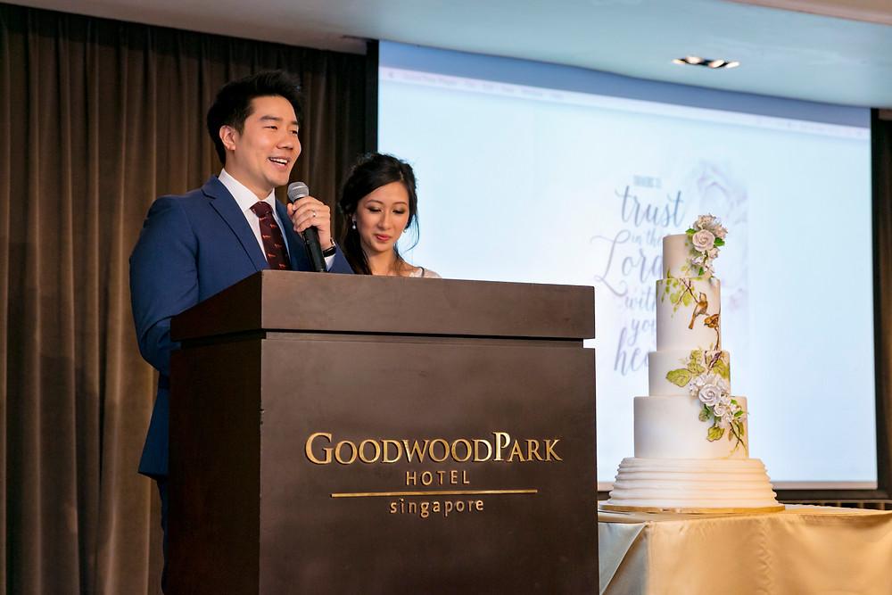 Wedding Speech by Couple| Singapore Wedding