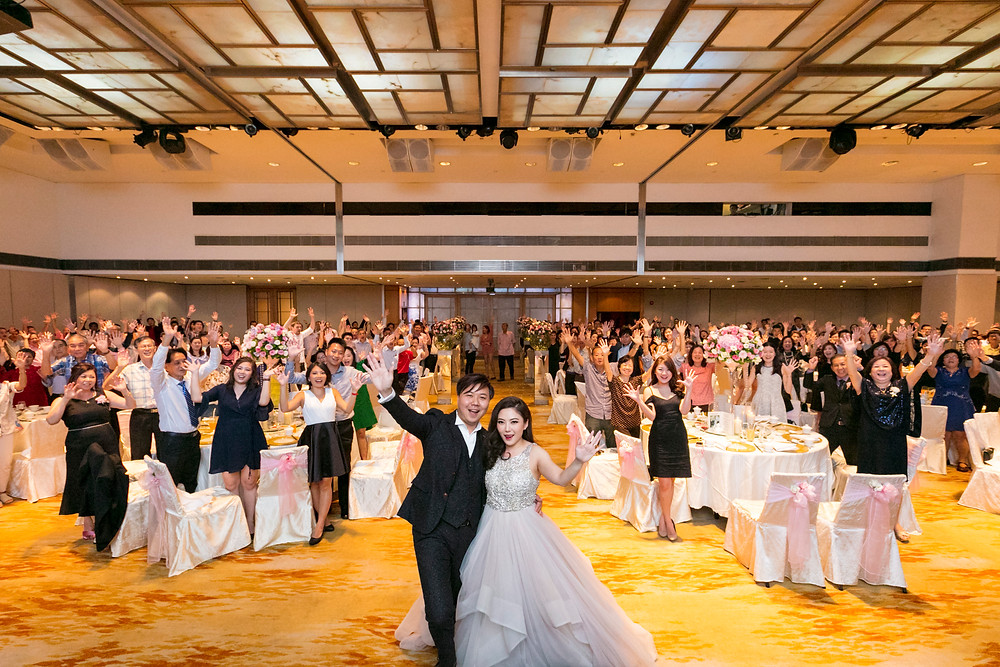 Wedding Banquet Photo at Singapore Marriott Tang Plaza Hotel| Equarius Photography