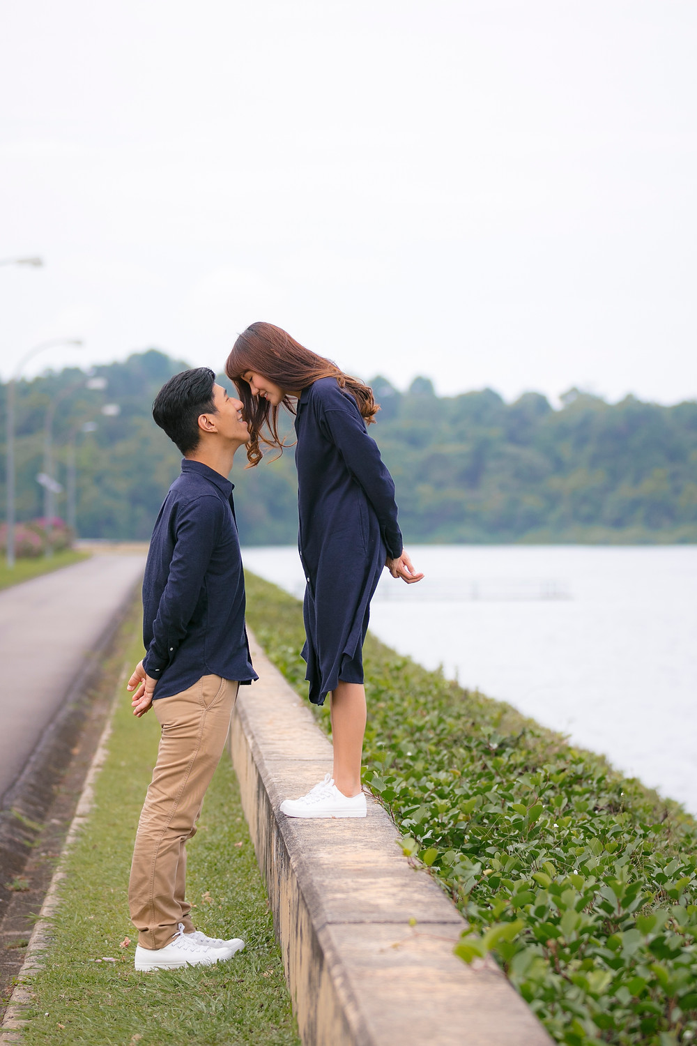Singapore Prewedding Photoshoot at Upper Seletar Resevoir by Equarius Photography