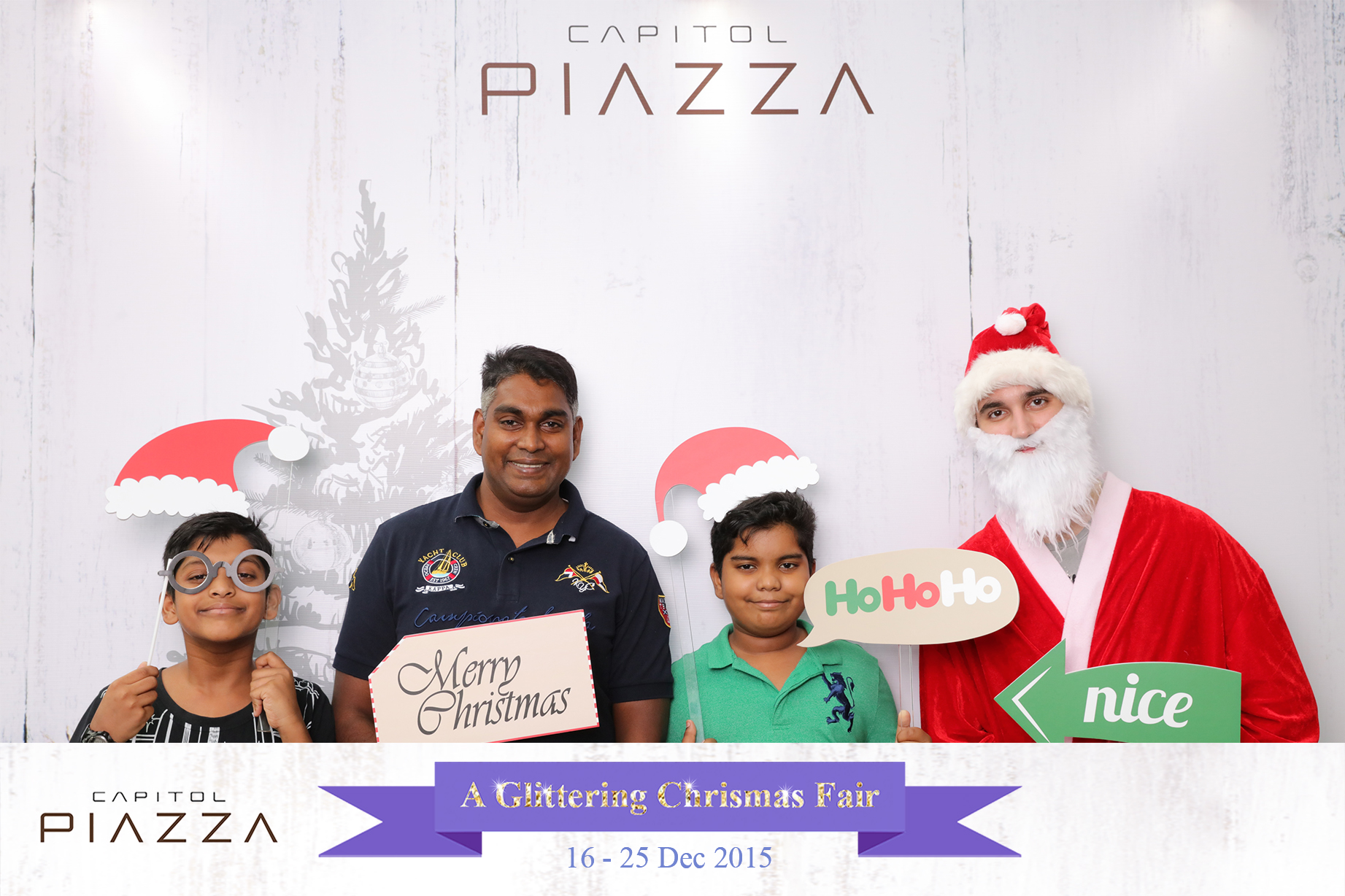 Christmas Photobooth Singapore