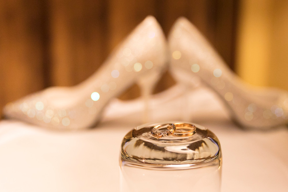 Engagement Rings and Bride's Heels
