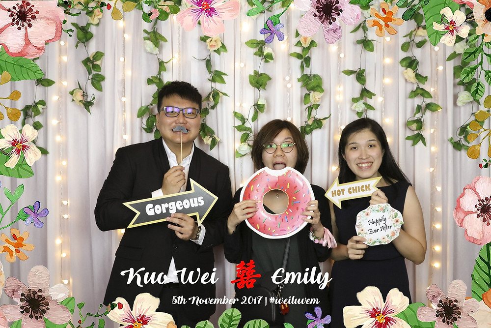 Wedding Photobooth Singapore by Equarius Photography