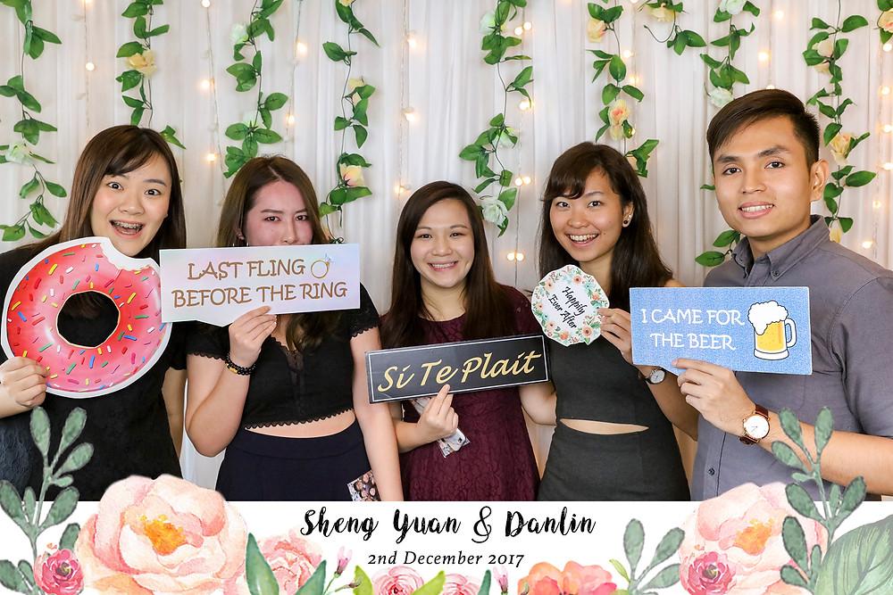 Singapore Wedding Photobooth