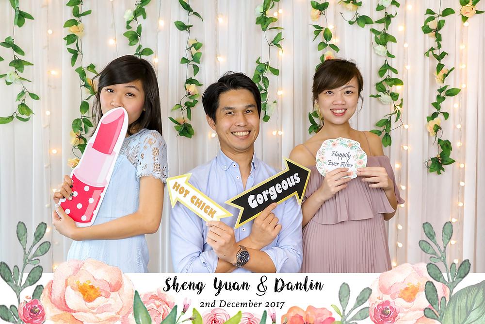 Singapore Wedding Photobooth| Equarius Photography