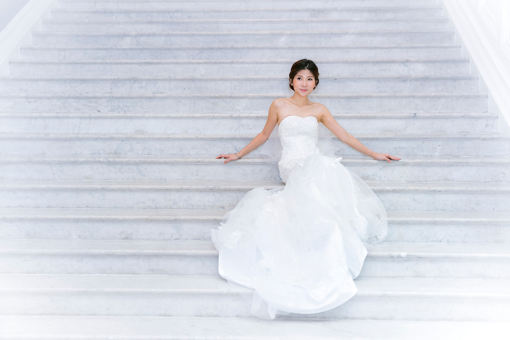 Prewedding Photoshoot at Victoria Concert Hall by Equarius Photography