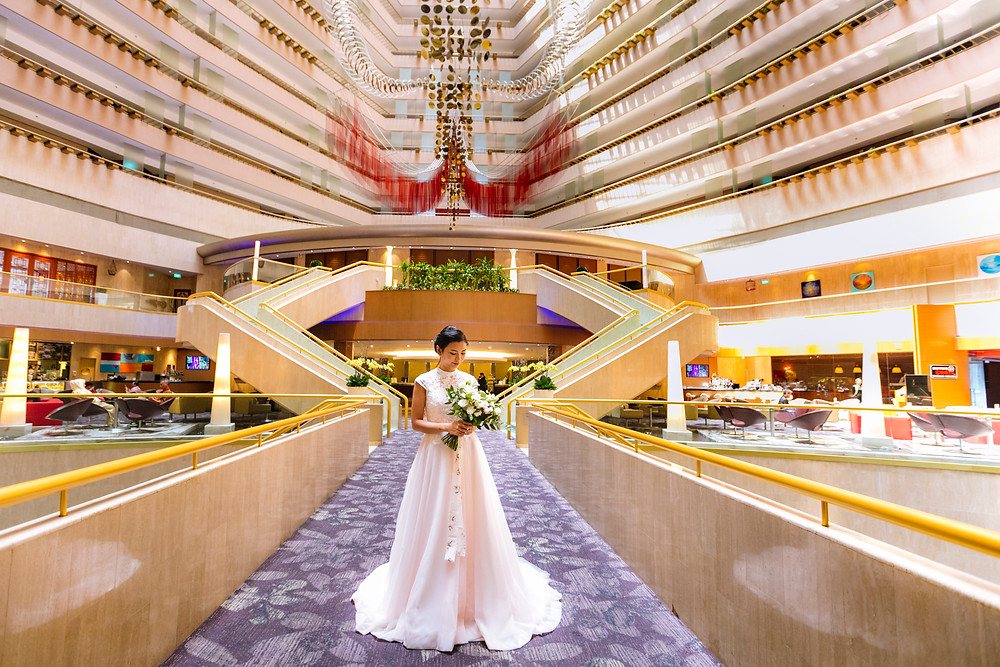 Singapore Wedding at Marina Mandarin