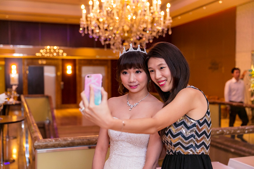 Wedding Reception at Holiday Inn Cuppage