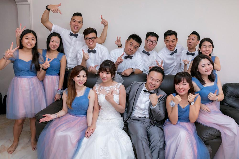 Singapore Actual Day Wedding