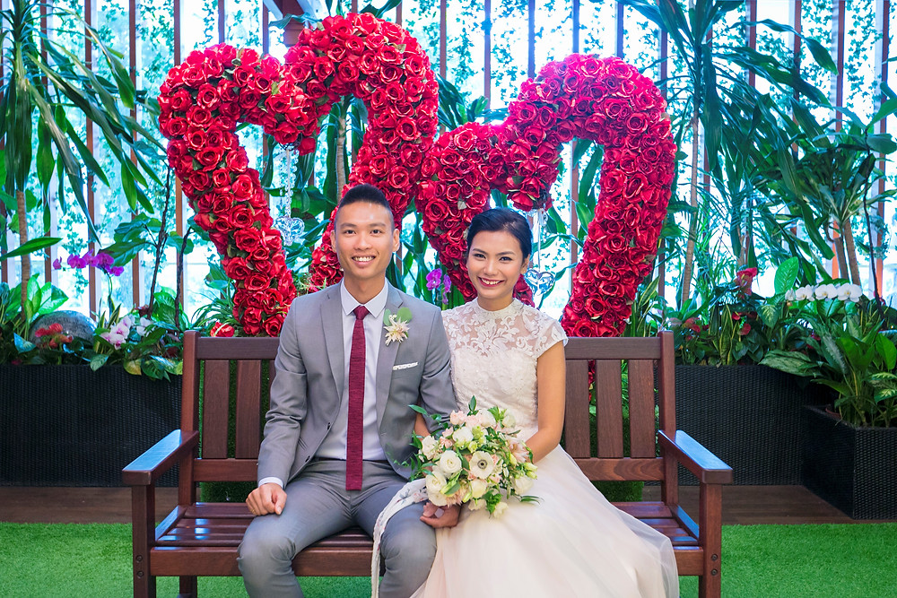 Solemnization at Registry of Marriage Singapore ROM