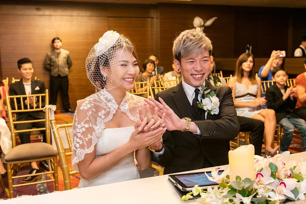 Wedding Dinner at Mandarin Orchard Singapore| Equarius Photography