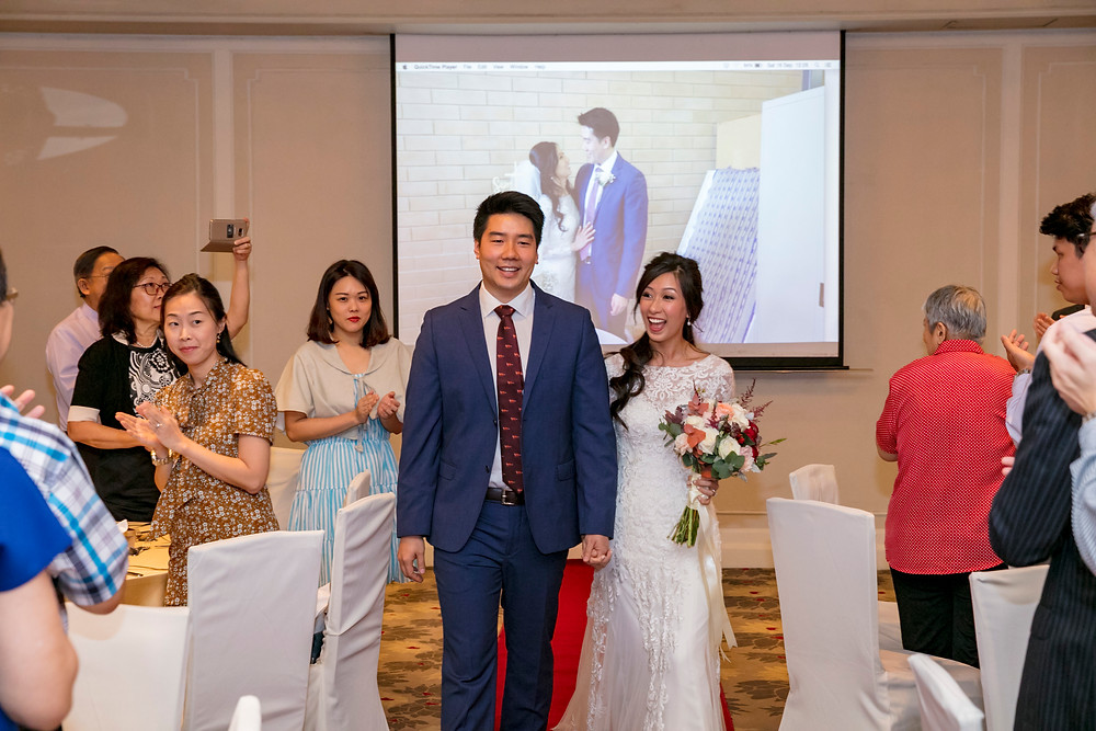 Wedding March In at Goodwood Park Hotel