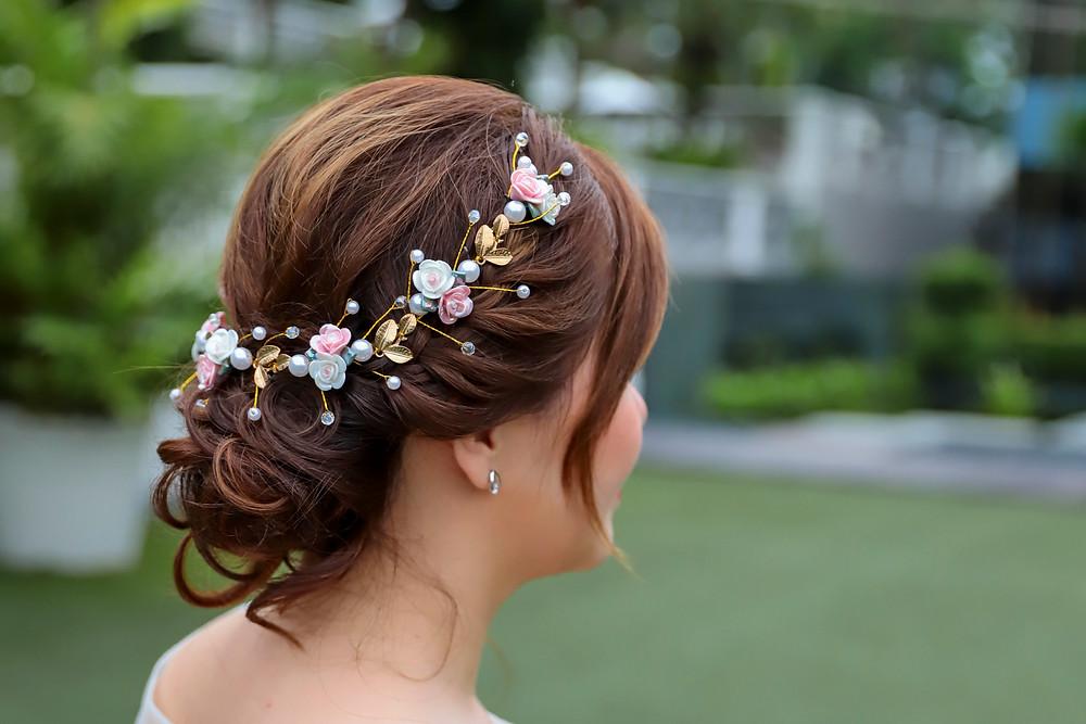 Wedding Make Up at Hotel Fort Canning Singapore| Equarius Photography