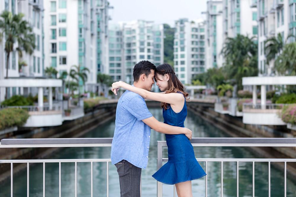 Singapore Prewedding/ Couple Shoot at Keppel Bay