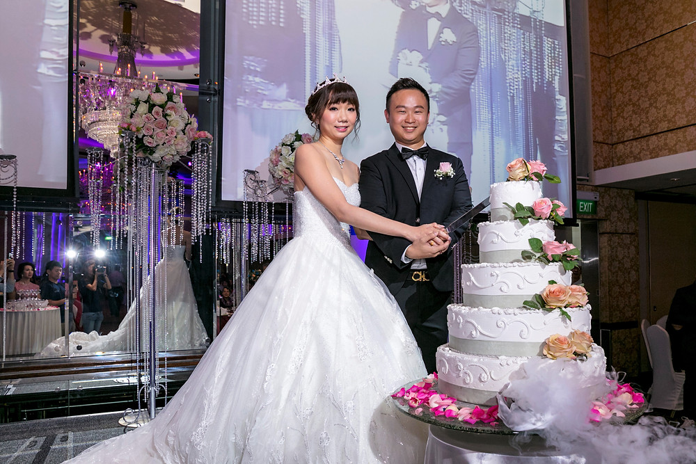 Wedding Dinner at Holiday Inn Singapore Orchard City Centre