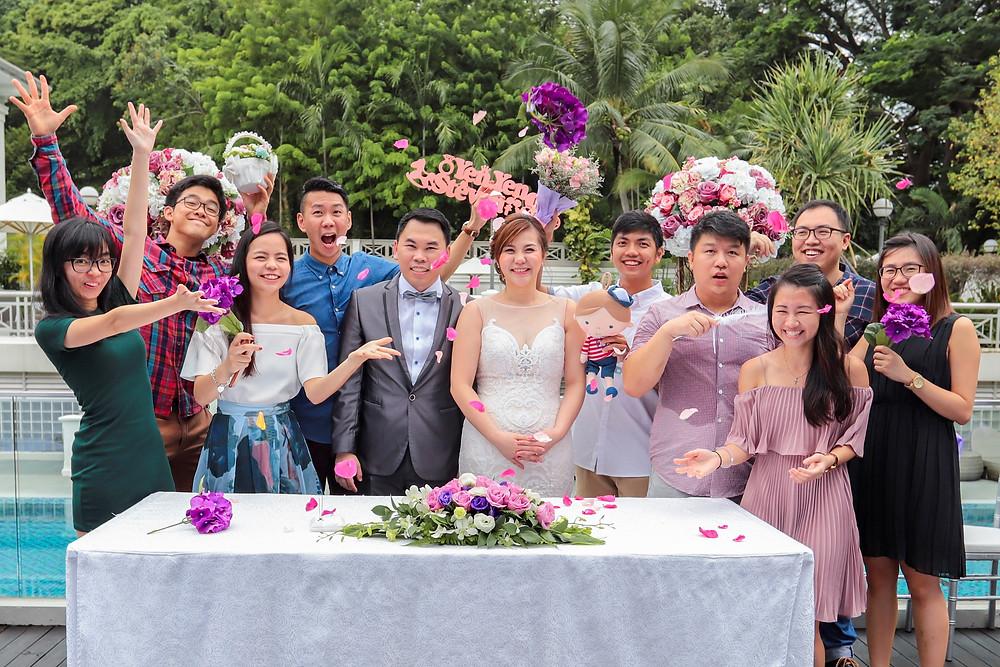Wedding Solemnization at Hotel Fort Canning Singapore| Equarius Photography