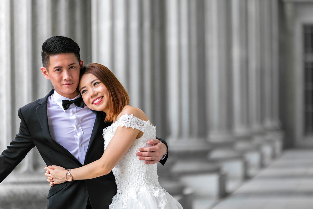 Wedding Photography at National Gallery Singapore