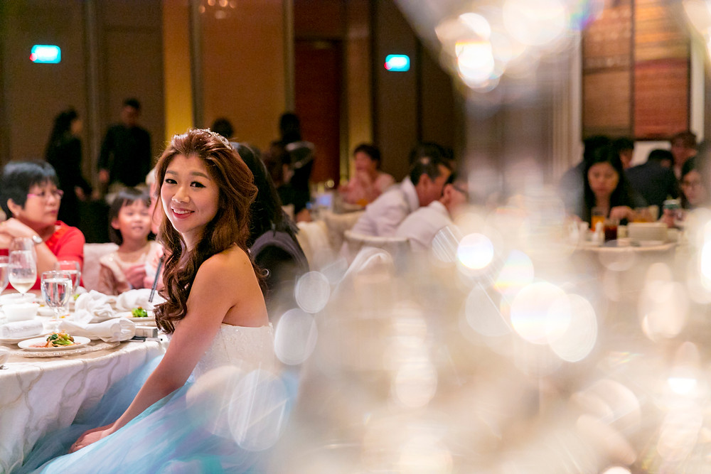The Gorgeous Bride| Singapore Wedding at Regent Hotel