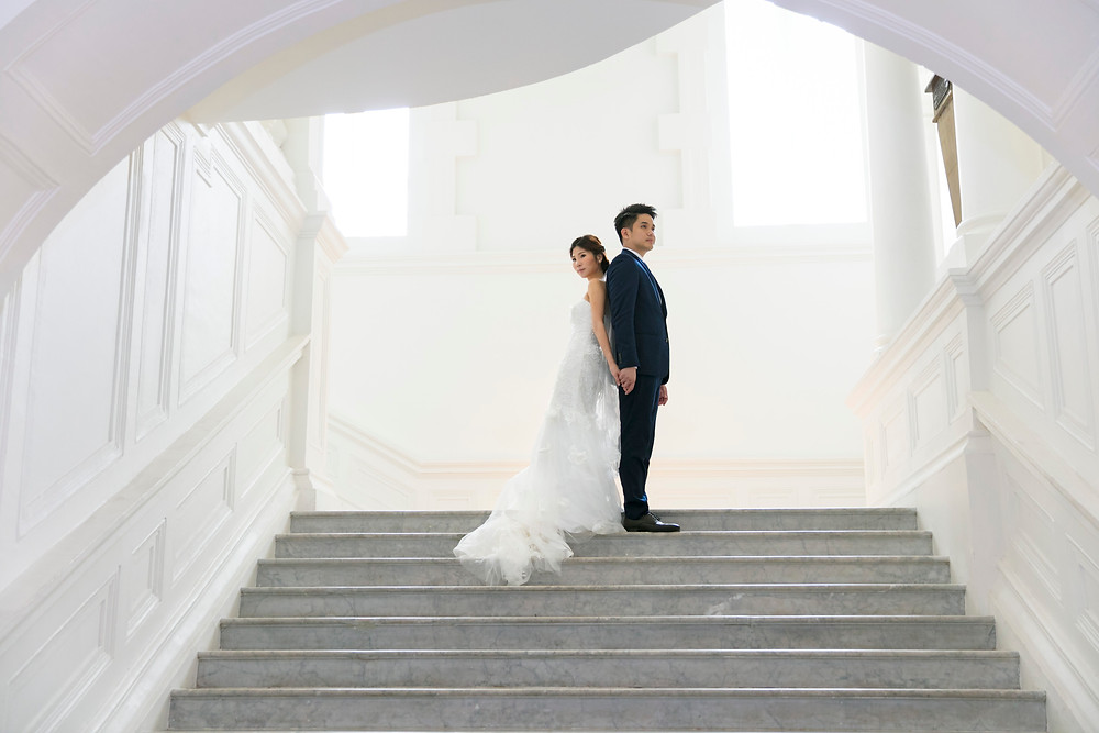 Singapore Prewedding at Victoria Concert Hall| Equarius Photography