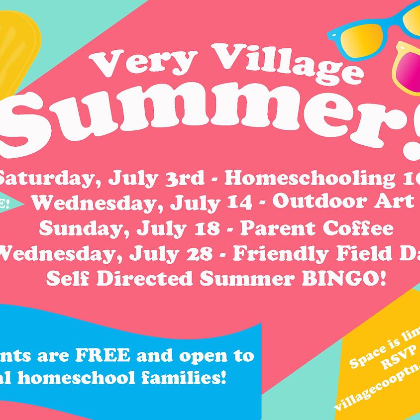 Village Summer Series: Parent Coffee